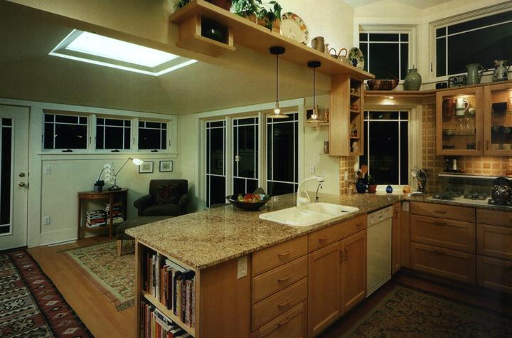 kitchen-cabinetry-skylight