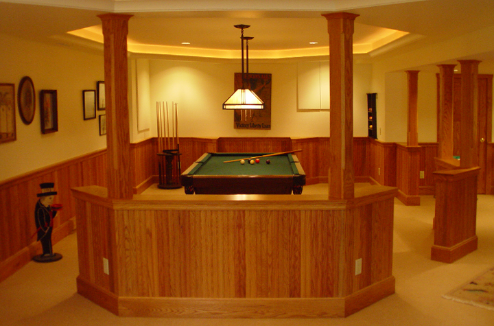 Basement transformation; Cave to Club!