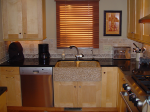 Kitchen: Maple, Granite and Stone