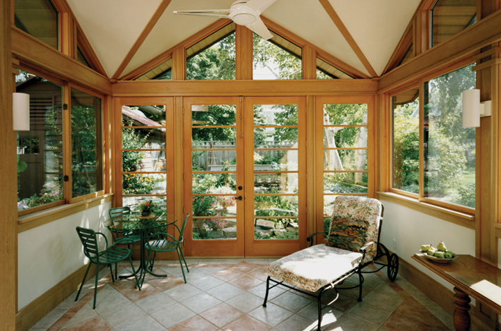Three-Season Garden Sunroom
